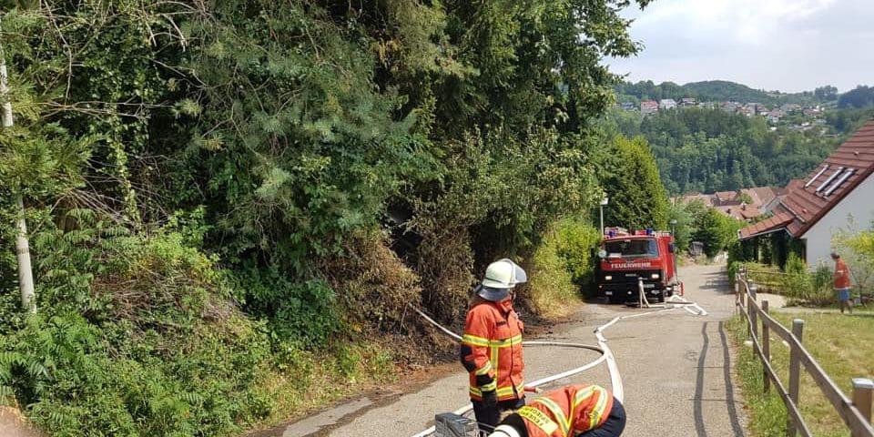 Einsatz Flächenbrand | Freiwillige Feuerwehr Spiegelberg